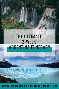 If you've only got two weeks to explore Argentina, then check out this awesome Argentina itinerary. This itinerary will see you exploring big cities, trekking on glaciers, walking under waterfalls and tasting wine in South America's most diverse country. Iguazu Falls, Travel Usa, Travel Tips, Solo Travel, Travel Ideas, In Patagonia, Argentina Travel, South America Travel, Adventure Is Out There