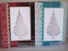 Designed this card using the Special Season stamp set from Stampin' Up!.  Layout is similar to a Z Fold Card.