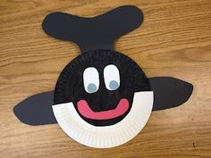 blog post includes patterns to make this orca whale