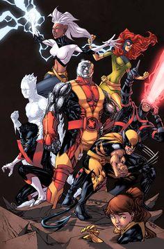 Extraordinary X-Men Color by logicfun on DeviantArt