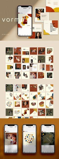 32 Ideas For Design Banner Creative Instagram Design, Instagram Mockup, Instagram Square, Instagram Templates, Free Instagram, Powerpoint Design Templates, Presentation Design Template, Presentation Layout, Business Presentation