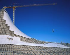Construction of Heydar Aliyev Center by Zaha Hadid