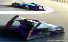 Infiniti Le Mans 2030 self-driving concept wins 2017 Michelin Challenge Design contest