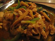Stir Fried Roasted Sweet Chilli Paste with Chicken