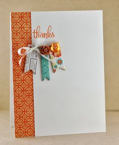 Card by Lynn Mangan using Verve Stamps.   tiny tags from PTI would work well