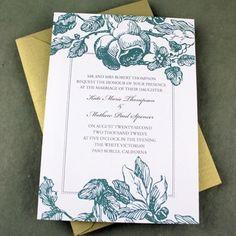 I THINK THIS IS IT!!! :) Flower Trellis Wedding Invitation Template