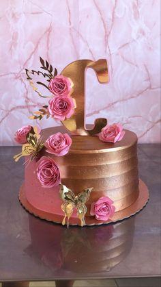 14th Birthday Cakes, Birthday Cake For Him, Bithday Cake, Elegant Birthday Cakes, Birthday Wishes Cake, Beautiful Birthday Cakes, Elegant Cakes, Teen Cakes, Girl Cakes