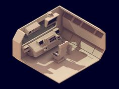 30 isometric renders in 30 days-8