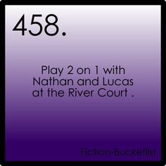 play 2 on 1 with Nathan and Lucas at the River Court