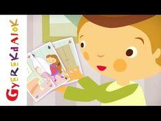Tavaszi szél vizet áraszt (gyerekdal, rajzfilm gyerekeknek) - YouTube