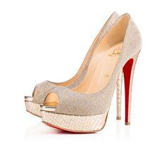 Shoes - Lady Peep - Christian Louboutin 150mm