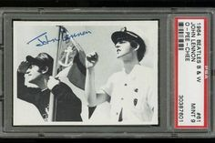 1964 O-Pee-Chee Beatles B & W John Lennon #61 PSA 9 Pop 1 of 1 - None Higher sells @ auction for $117.57