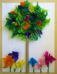 Mauriquices: Na nossa sala há sempre Primavera!!!