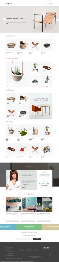 CoolStuff is creative multi-purpose eCommerce WordPress theme based on WooCommer. - CoolStuff is creative multi-purpose eCommerce WordPress theme based on WooCommerce. With purpose oriented and creative design, responsive layout, the . Catalogue Design Templates, Catalog Design, Design Websites, E Commerce, Ui Design, Blog Design, Site Inspiration, Webdesign Inspiration, Wordpress Website Design