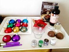 La casa de Alejandra: Cupcakes de Esferas de Navidad DIY Alejandra Coghlan