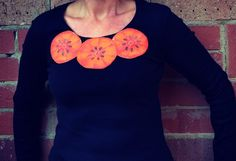 Funky Fruit Applique Top - by MonkeysOverTheMoon on madeit