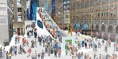 Times Square�s Super Bowl Boulevard Includes a 58-Foot Toboggan Run
