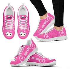 a93038d228d3 Hello Kitty Women s Sneakers Hello Kitty Coloring