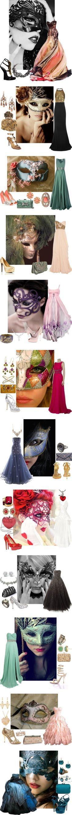 Perfect ideas for a Masquerade Ball!