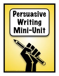 Check Out These Related Units:Recount Writing Mini UnitSummary and Reflection Writing Mini UnitThis is a mini unit on persuasive writing.  It begins with a diagnostic worksheet about persuasive writing then goes on to give several examples of persuasive essays.