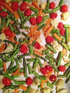 Easy Recipe for Roasted Vegetables  #sidedish #vegetarian #vegan