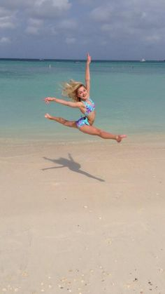 Chloe at the beach.