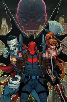 RED HOOD AND THE OUTLAWS #1 Written by SCOTT LOBDELL • Art by DEXTER SOY • Cover by GIUSEPPE CAMUNCOLI and CAM SMITH