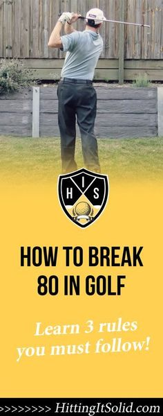 If you want to know what are the best ways how to break 80 in golf you need to know the keys and get the right information. Learn these simple keys to breaking 80 every time and enjoy your golf.