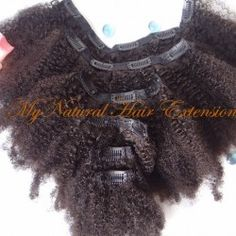 Afro Kinky Curly Clip in's Hair Extensions