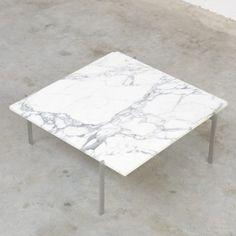 Located using retrostart.com > PK61 Coffee Table by Poul Kjærholm for E. Kold Christensen