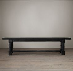 RH's Salvaged Wood Gun Barrel Rectangular Extension Dining Table:Our handcrafted table bears the hallmarks of old wood with nicks, nail marks and imperfections that reveal the table's age and provenance.