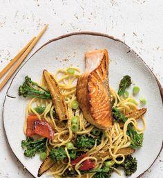 Asijské nudle se zeleninou alososem | Recepty Albert