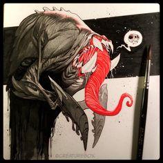 CreatureBox • Inktober Day 4: Little did Gordon know, nightmares...