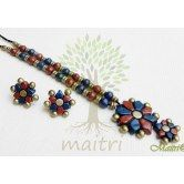 terracotta-jewelry-medium-big-set-tsb314 Maitri Crafts www.maitricrafts.com https://www.facebook.com/maitricrafts.maitri