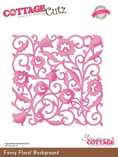 CottageCutz Fancy Floral Background (Elites)