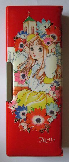 Vintage Shoujo Manga Art, bags, cases, etc.