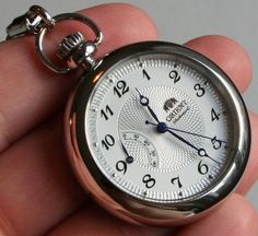 Orient CDD00001W Pocket Watch