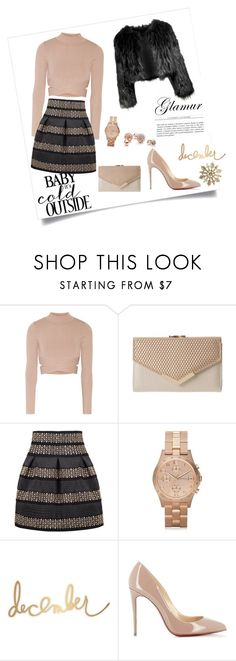 """""""Bez naslova #33"""" by daiiisyy ❤ liked on Polyvore featuring Jonathan Simkhai, Marc by Marc Jacobs, Christian Louboutin, GUESS and Disturbia"""