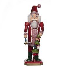 "Santa Claus Nutcracker, 10-1/2"" h, new for 2013"