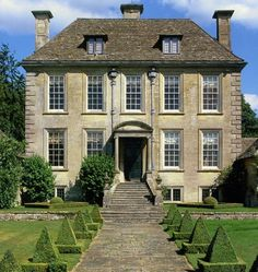 nether lypiatt manor, the cotswolds, england, c. 1705