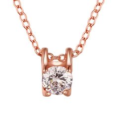 Simple and Chic Crystals Pendant Necklace, 50% discount @ PatPat Mom Baby Shopping Appggg