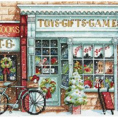Shop for Gold Collection Petite Toy Shoppe Counted Cross Stitch Kit. Free…