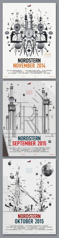 https://www.facebook.com/modulwerk   http://modulwerk.net/   #modulwerk #collage #Nordstern