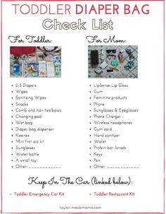 Everything you need to pack in a Toddler Diaper Bag. Toddler diaper bag essentials for a mom and her toddler. Diaper Bag Backpack, Diaper Bags, Diaper Bag Checklist, Diaper Bag Essentials, Baby Checklist, Travel Essentials, Toddler Diaper Bag, Toddler Backpack, Travel