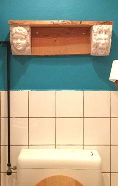 De beelden komen van de Bataviawerf. Het idee is van Johanneke.