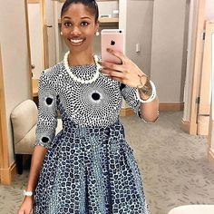 Ankara Xclusive: Most Popular African Clothing Styles 2018 Ankara Gown Styles, Latest Ankara Styles, Ankara Gowns, Ankara Dress, Dress Styles, African Print Dresses, African Fashion Dresses, African Dress, Fashion Outfits