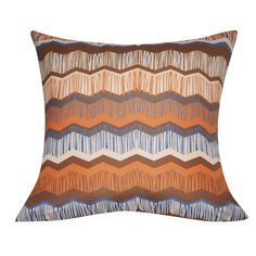 Chervon Decorative Throw Pillow