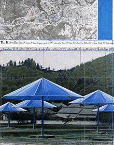 Christo and Jean-Claude - The umbrellas