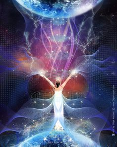 I am a Spiritual Artist, Visual Designer, Reiki Master and fortunate to be a part of the Kundalini Maha Yoga lineage. Astral Projection, Visionary Art, Second World, Psychedelic Art, Heaven On Earth, Fantasy World, Love And Light, Sacred Geometry, Mystic