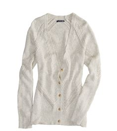 AE Real Soft Mixed Stitch Cardigan - XS or Small if they come back in stock. cream. <3 <3 <3